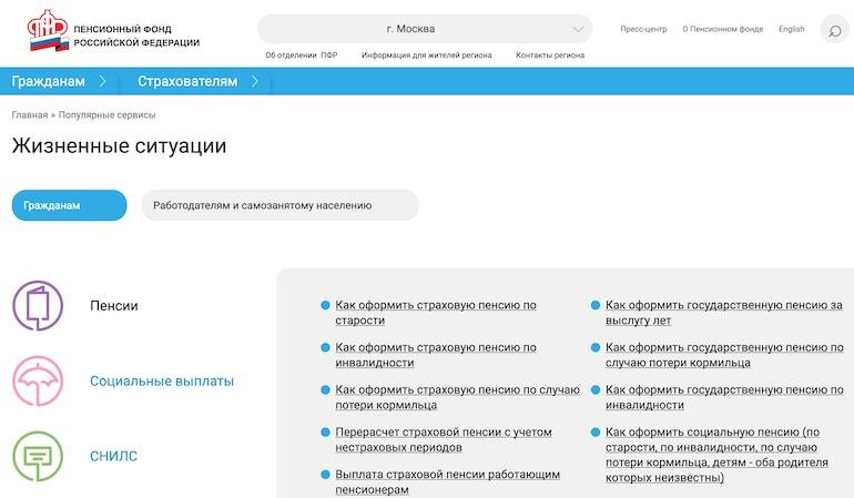 Московская добавка к пенсии